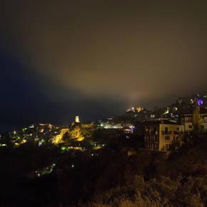 Νυχτερινή άποψη της Αράχωβας